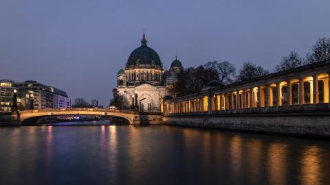 德国柏林大教堂图片